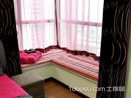 拐角飘窗窗帘怎么安装?拐角飘窗窗帘安装效果怎么样?