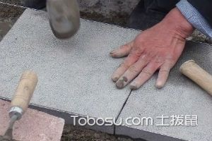 石材地面施工