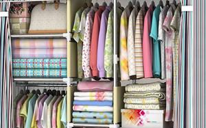 【布艺衣柜】布艺衣柜优点_缺点_选购_图片