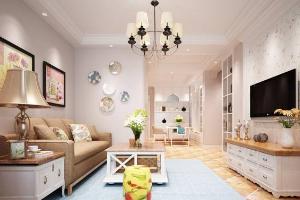 小美式客厅设计
