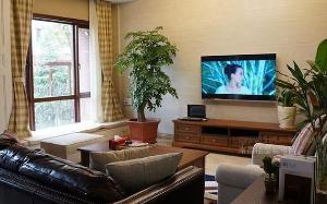 【小美式客厅设计】小美式客厅设计要点_元素_注意事项_图片