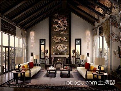中式别墅装修效果图,别墅的装修风格有哪些