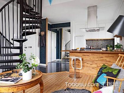复式公寓45平米的装修图,45平米复式公寓设计案例图片