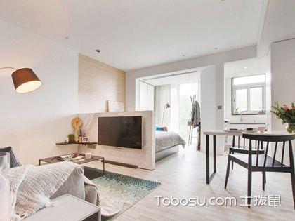客厅改一室一厅效果图,客厅如何改造成一室一厅