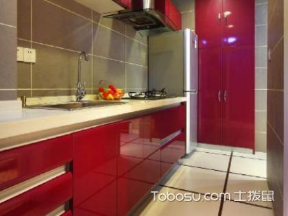 红色橱柜好看吗?购买橱柜什么颜色好看呢?