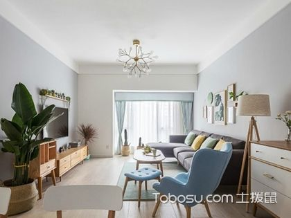 北欧U乐国际设计优乐娱乐官网欢迎您,89平米两室两厅u乐娱乐平台案例