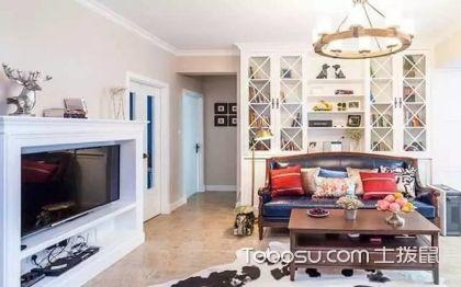 100平米三室一厅装修效果图,美式风格也温馨