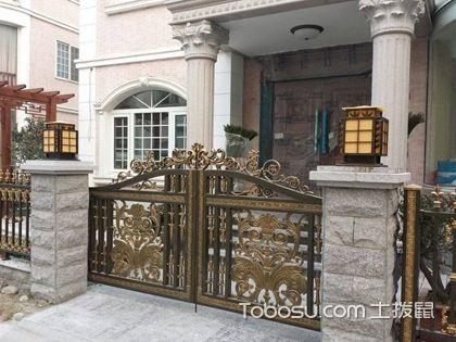 别墅庭院门,别墅的庭院大门要如何选择