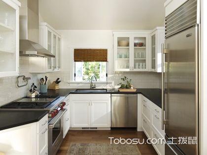 4平米u型厨房设计图,小厨房亦可大不同