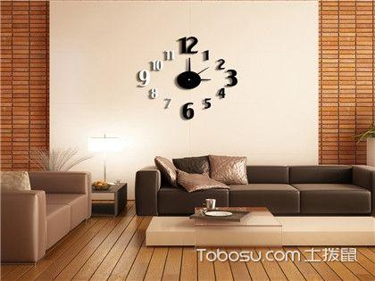 客厅挂钟风水禁忌全解,快来看看你家的挂钟挂对位置没!