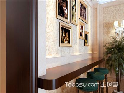 欧式小吧台装修效果图,家庭吧台设计图片