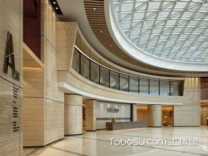 办公楼大厅装修设计,设计办公楼大厅时要注意什么