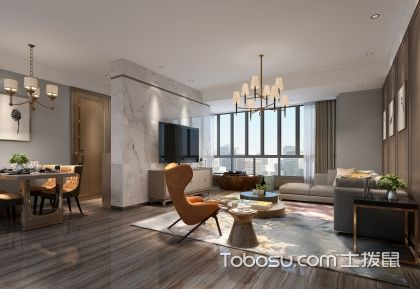 90平米新房现代简约装修风格预算报价表