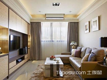 60平米两室一厅装修效果图,住的舒服就是对的