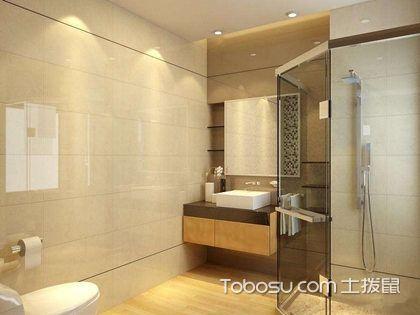 橙色小户型卫生间装修,打造经典小卫生间