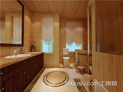 卫生间瓷砖和浴室柜颜色如何搭配?超实用的卫生间装修技巧介绍!