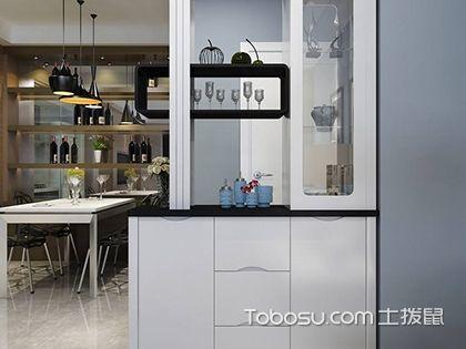 厨房双面隔断柜装修,厨房双面隔断柜特点及保养