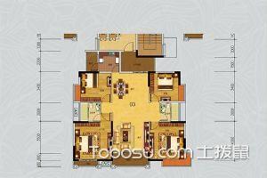 四居室户型图