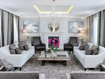 韵味十足,看别墅客厅沙发摆放造型有哪些?