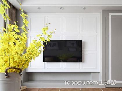 背景墙装修五大技巧,附电视背景墙效果图参考