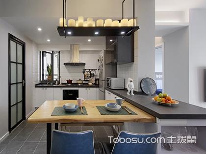 餐厅厨房一体设计如何做?餐厅厨房设计的和谐搭配技巧