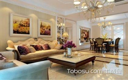四室两厅最佳户型图,简欧风更时尚