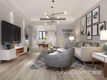 它千变万化多重姿态,北欧式风格的客厅效果图欣赏