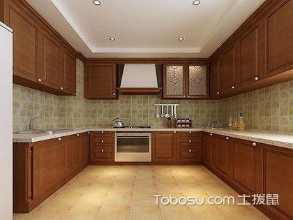 北京别墅厨房中式装修设计效果图,这样装才真的好看