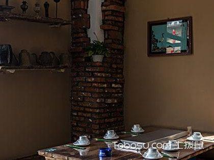 民宿设计手绘餐厅,充满艺术气息的浪漫餐厅