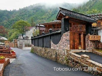杭州莫干山民宿房屋设计效果图,旅游住的舒服有多重要