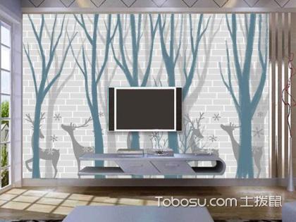 客厅背景墙装饰画哪个好?客厅背景墙用什么材料好?