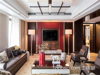 客厅电视背景墙设计,电视背景墙与附近墙面搭配设计方案
