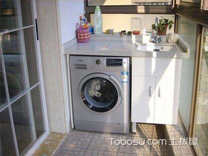 阳台洗衣柜的水电如何来布置?有什么需要注意的?