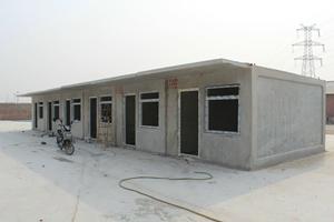 水泥活動房