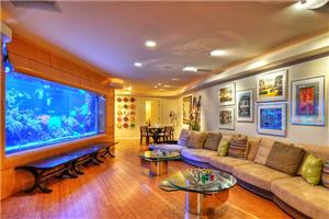 客廳魚缸的擺放位置