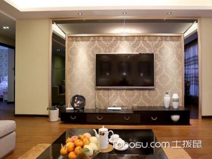 壁纸电视背景墙设计要点有哪些?先睹为快