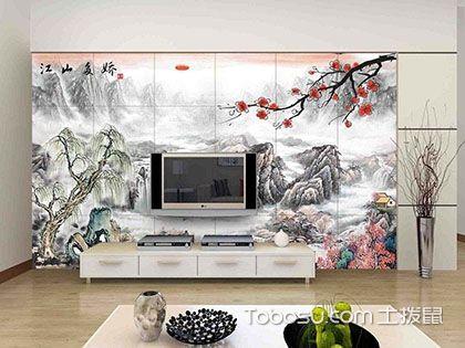 客厅电视背景墙风水画,电视背景墙必学风水知识
