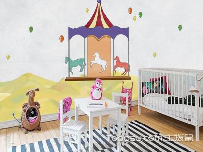 儿童房手绘背景墙设计方法,设计要注意什么?