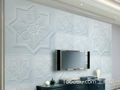 石膏线电视背景墙效果图,原来石膏线还可以这样用