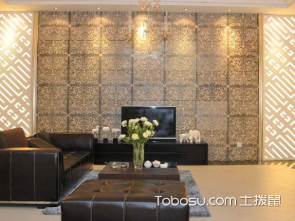客厅电视机背景墙用什么材料?背景墙设计原则是什么?