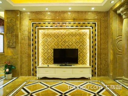 电视背景墙用什么材料好?电视背景墙选择什么风格好?