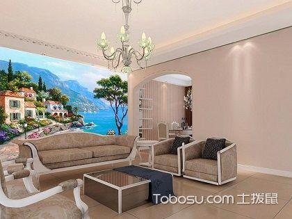 客厅沙发电视背景墙装修,电视背景墙装修注意事项
