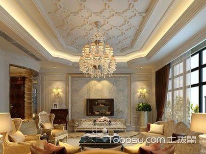 房屋客厅吊顶装修用什么材料好?有哪些材料可选择?