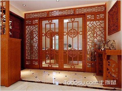 最新中式别墅隔断墙装修效果图鉴赏,隔断墙也能如此的美丽