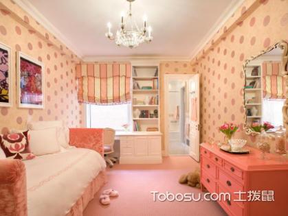儿童房粉色壁纸好不好,如何给孩子安全的家装环境