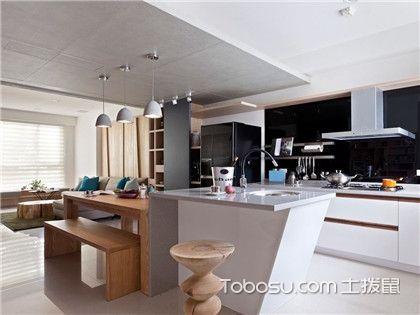 2018最新歐式廚房吊頂裝修效果圖,帶你領略最潮流的吊頂設計