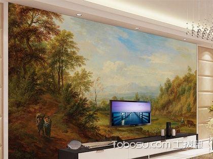 背景墙装修用油画好吗?数字油画哪个牌子好?