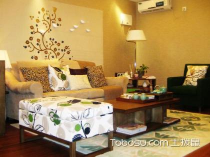 咖啡色沙发背景墙搭配什么颜色沙发好?沙发背景墙怎么装饰?