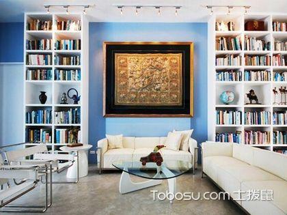 小戶型書房裝修如何充分利用空間?書房裝修技巧大全