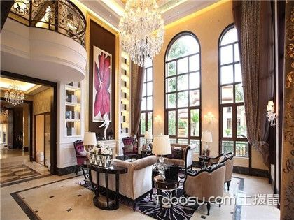 昆明美式别墅客厅装修,了解一下!